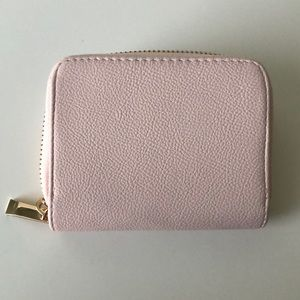 A New Day blush pink wallet